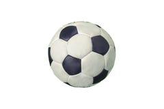 gammal fotboll för boll Royaltyfria Bilder