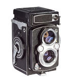 Gammal fotokamera Royaltyfri Fotografi