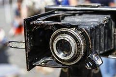 Gammal fotokamera 7 Arkivbilder