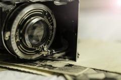 gammal fototappning för kamera Royaltyfria Foton