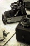 gammal fototappning för kamera Arkivbild