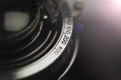gammal fototappning för kamera Royaltyfri Fotografi