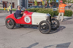 Gammal fransk bilbil Amilcar CGSS (1928) Royaltyfri Foto