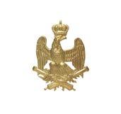 Gammal fransk gradbeteckning royaltyfria foton
