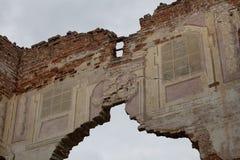 gammal fresco Arkivbild