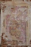 gammal fresco Royaltyfri Fotografi