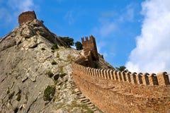 gammal fästning Arkivbild