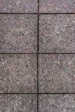 Gammal fyrkantig stenvägg royaltyfria foton