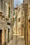 gammal gata royaltyfri foto