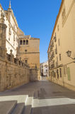 gammal gata Arkivbild