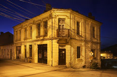 Gammal gata i Belogradchik lökformig Arkivfoton