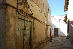 Gammal gata i Bukhara Royaltyfri Fotografi