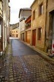 Gammal gata i Luxembourg royaltyfria foton