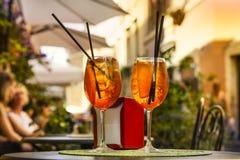 Gammal gata i Trastevere i Rome, Italien Fotografering för Bildbyråer