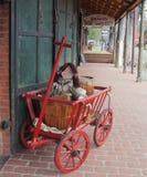 gammal gatatown Royaltyfri Fotografi