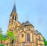 gammal germany aachen för kyrkligt kors helig landmark royaltyfria bilder