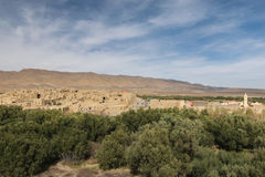 Gammal by Ghazouane nära Talsint, Marocko Arkivfoto