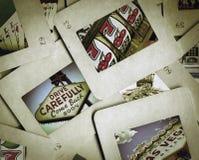 gammal glidbana arkivfoton