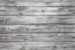 Gammal grå träbakgrund - inget och tömmer Arkivfoton