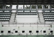 Gammal grön coliseum, gammalt sammanträde, tennisbana Arkivfoton