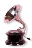 gammal grammofon Fotografering för Bildbyråer