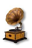 gammal grammofon Royaltyfri Foto