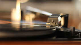 Gammal grammofon arkivfilmer
