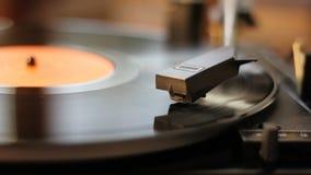 Gammal grammofon stock video