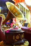 gammal grammofon Royaltyfri Bild