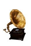 gammal grammofon Arkivbilder