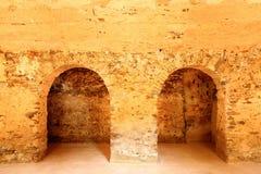 gammal grotta Arkivbilder