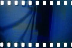 Gammal grungefilmstrip arkivbilder