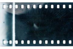 Gammal grungefilmstrip royaltyfria foton