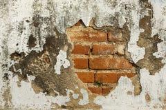 Gammal Grungevägg av den gamla husbakgrundstexturen Royaltyfri Fotografi