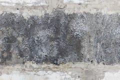 Gammal grungy textur, grå betongvägg Fotografering för Bildbyråer