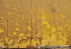 Gammal guling målat trä Royaltyfria Bilder