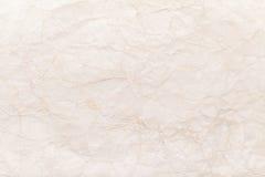 Gammal guling skrynklade pappers- bakgrundstextur Arkivbild