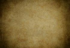 Gammal gulnad pappers- textur Fotografering för Bildbyråer