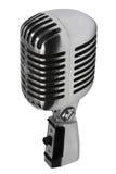gammal härlig mikrofon Royaltyfri Fotografi