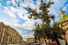 Gammal härlig stad Arkivfoto