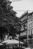 Gammal härlig stad Fotografering för Bildbyråer