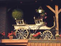 Gammal hästdragen vagn Royaltyfri Fotografi