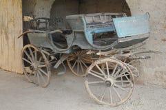 Gammal hästvagn Royaltyfri Fotografi