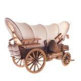 Gammal hästvagn Arkivfoto