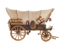 Gammal hästvagn Arkivbild