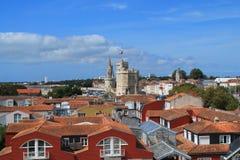 Gammal hamn av La Rochelle, Frankrike Arkivfoto