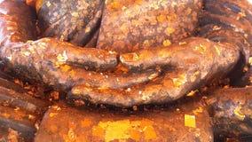 Gammal hand för Buddha Fotografering för Bildbyråer