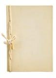 gammal handgjord anteckningsbok Arkivbilder