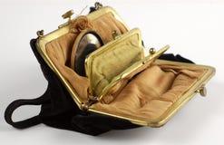 gammal handväska Royaltyfria Foton