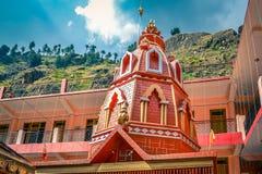 Gammal Hanuman tempel i Manikaran Royaltyfri Foto
